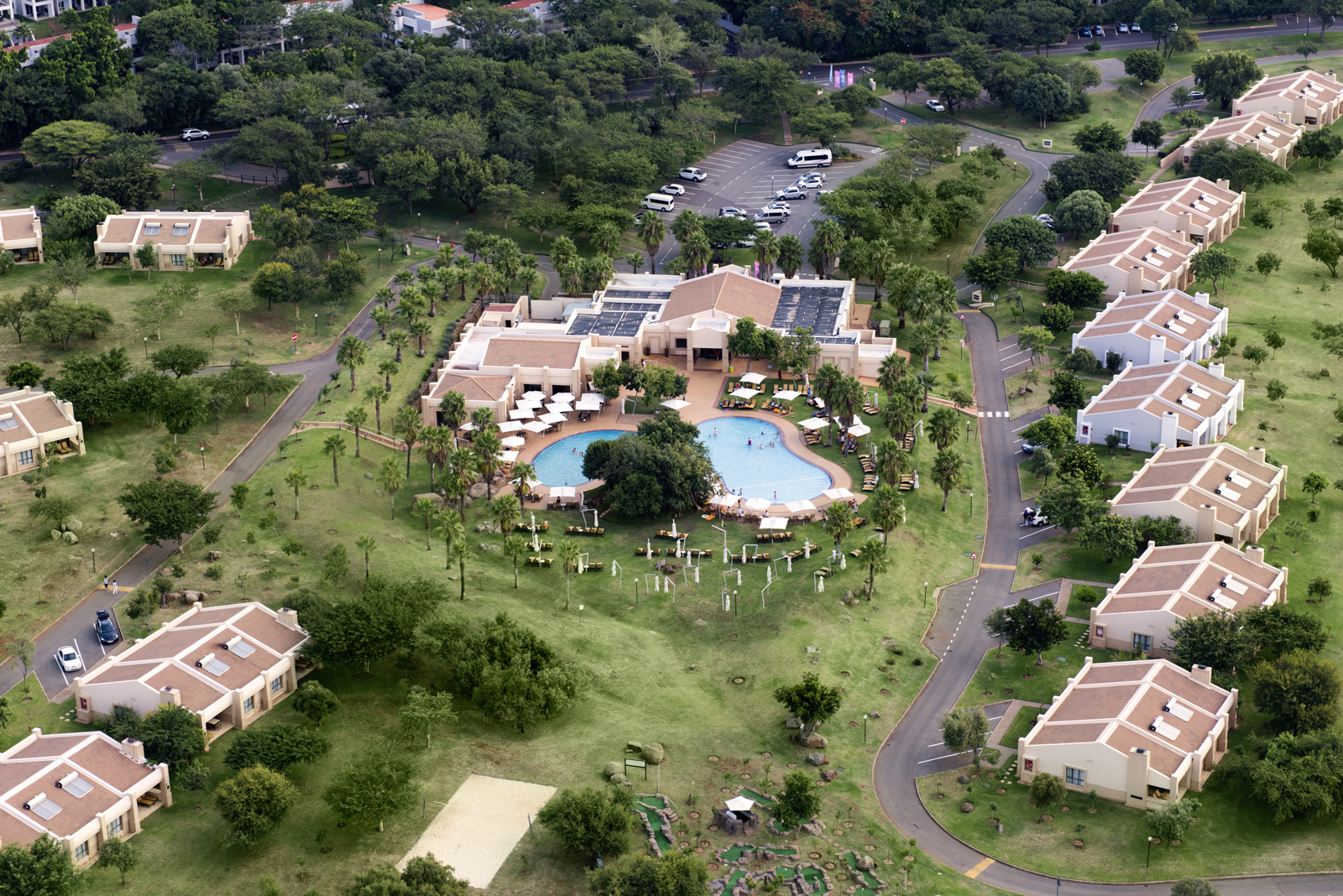 Sun City Sun Vacation Club Aerial